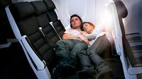Cuddle Class Image from Air New Zealand