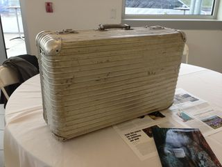 This is an original Rimowa case built in the 1940's - while showing it's age, the structure and functionality of this case remain the same.
