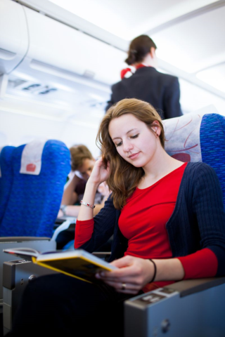How to survive an international flight