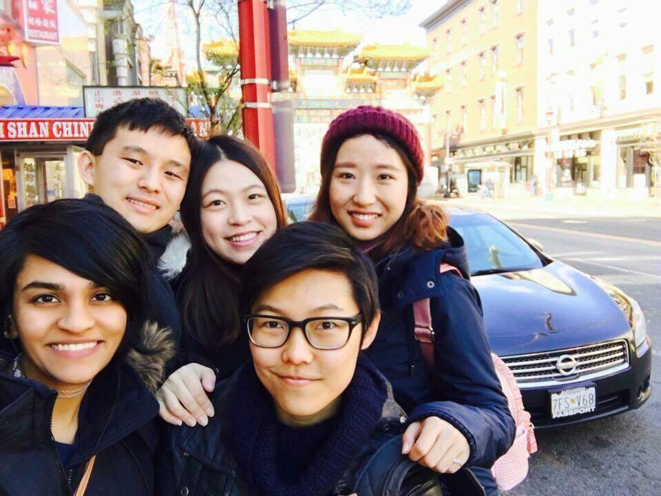Friends in Washington D.C