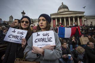 Students during Paris Attacks