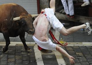 Getting Hit by Bull