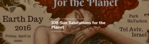 108 Sun Salutations for the Planet